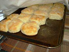 Homemade Buttermilk Biscuits: 2 cups  self rising flour  1/4 cup  crisco shortening  1 3/4 cups  buttermilk