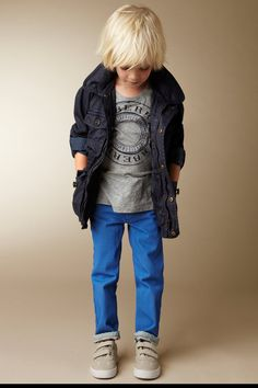 Marcas de moda para niños: Burberry Children 2013