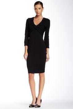 DS Dress by Debbie Shuchat Surplice Neck Sheath Dress by Debbie Shuchat on @nordstrom_rack