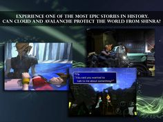 Square Enix's Final Fantasy VII for iOS is Released  #FinalFantasy #FinalFantasyVII #SquareEnix Square Enix has released FINAL FANTASY VII for the iPhone, iPad, and iPod touch. The smash hit RPG: Final Fantasy VII, which has sold over 11,000,000...