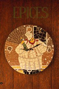 Creative Company | Mosaiek dekoratiewe idees: Sjefhorlosie