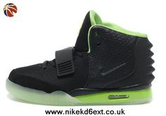 separation shoes ba69f bf697 Wholesale Discount Nike Air Yeezy II Men Shoes Black Green Your Best Choice