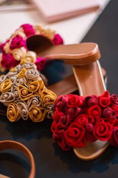 In Love with Malone Souliers floral design. Wanna have these gorgeous sandals? Get them on our website! Malone Souliers, Red Sandals, Floral Fashion, Floral Design, Floral Prints, Footwear, Website, Flower Fashion, Floral Patterns
