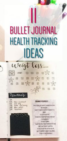 11 Bullet Journal Health Tracking Ideas - Bullet Journal Spreads to Track Health