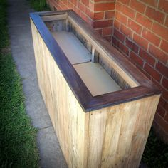 Fugly Wood False Bottom Planter