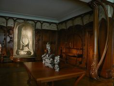 art nouveau room at the musee d'orsay by Mich Lancaster, via Flickr