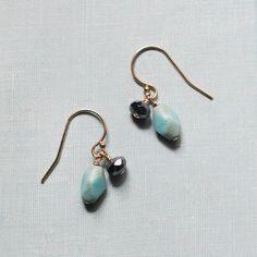 kate - earrings by elephantine. $27.00, via Etsy.