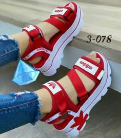 Cute Shoes For Teens, Trendy Shoes, Girls Shoes, Crocs Fashion, Sneakers Fashion, Fashion Shoes, Cute Heels, Shoes Heels, Cute Nikes