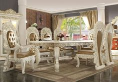 Luxury Home Furniture, Luxury Dining Room, Luxury Homes, Dining Chairs, Home Decor, Luxurious Homes, Luxury Houses, Decoration Home, Room Decor