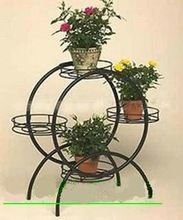 European Furnishing Wrought iron pergola Free shipping Wrought iron hanging flower Iron rack Flower The flowerpot support(China (Mainland))