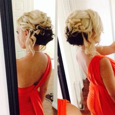 My up-do's always look so damn good. Never changing my two-toned hair!
