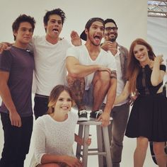 I love this pic... Teen wolf group photograph ❤️