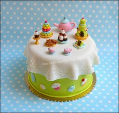 Tea table cake