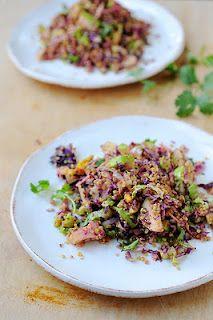 Apple salad with quinoa