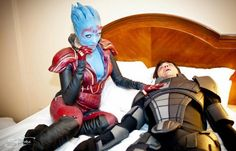 Via @Mark_Meer - Here's what happens if Samara is actually Morinth... (photo by Soulfire Photography)