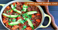 Paleo Sweet Potato Chili | savorylotus.com #paleo #dinnerrecipes #glutenfree
