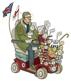 Mod Till I Die.. Vespa Ape, Lambretta Scooter, Mod Scooter, Scooter Girl, Pete Mckee, Mobility Aids, Funny Slogans, Funny Cards, Drawing