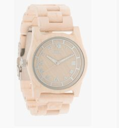 The Moment Wood Watch in Birch by FLUD