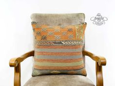 18 Striped Orange Embroidered Pastel Colors by AnatoliaCollection