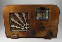 RARE Vintage Arco Jicky Tube Table Radio Deco 1920s R Series France | eBay