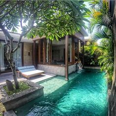 When the pool is in your #outdoor #bedroom @theelysianbali #hotel #travel #vacation #holiday #bali