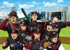 "diontes: ""Diamond no Ace & Rakuten Eagles Collaboration Event Special Drawing """