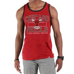 Chicago Bulls NBA Tilldawn Tank Top $29.99  #SeeRed