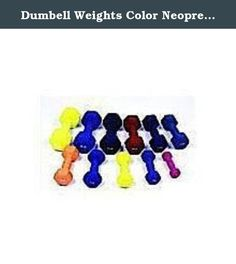 Dumbell Weights Color Neoprene Coated 12 Lb. Cast iron dumbells with a colored vinyl coat.