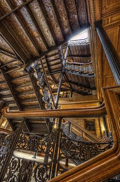 Bradbury Building, Los Angeles, CA.