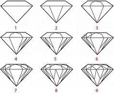 Tendance Joaillerie 2017   Comment dessiner un diamant ? | Pourquoi Comment : Les réponses à vos questions !