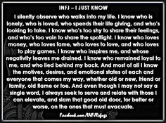 """""""I always seek to serve and relate with those I can elevate, and slam the door on those that must evacuate."""" INFJ love and door slam Infj Mbti, Intj And Infj, Infj Type, Introvert, Enfj, Infj Traits, Rarest Personality Type, Infj Personality, Myers Briggs Personality Types"""
