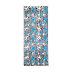 Christmas or Winter Party Hanging Decoration SNOWFLAKE METALLIC CURTAIN  #ChristmasWinter