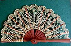 JP: Crochet Lace Fan