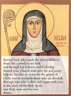 Ever since I heard that I had been accepted to train for the ordained ministry, St Hild of Whitby has been a companion on my journey. She is a real inspiration to me and today is her feast day. She…