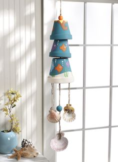 Kids Craft Blog by PlaidOnline.com - Kids Summer Wind chime