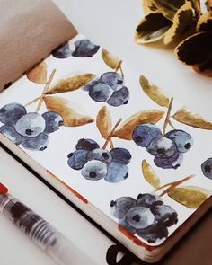 Whether you re obsessed with a certain subject matter or trying out a new paint style a Watercolor Journal can be the perfect on-the-go companion to help keep your artistic juices flowing Artist Credit laia journal Watercolor Journal, Watercolor Paintings, Watercolor Video, Watercolor Lettering, Watercolours, Painting Inspiration, Art Inspo, Art Sketches, Art Drawings