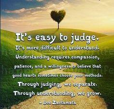 It's easy to judge...L.Loe