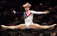 Amanda Borden - one of my gymnastic heroes from the Mag 7