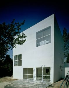 Alberto Campo Baeza - The X X Turegano House, Madrid Photos © Hisao Suzuki. Modern Architecture House, Interior Architecture, House Deck, House Photography, Contemporary Apartment, Famous Architects, Alvar Aalto, Madrid, Prefab