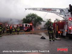 San Antonio Fire Scene Photos from 2009
