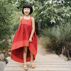 Baby Kids Clothes, High Low, Dresses, Fashion, Vestidos, Moda, Gowns, Fasion, Dress