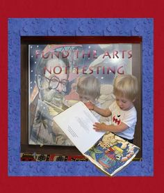 #whyIrefuse unfunded testing mandate and 24/7 test prep driving out literature and imagination!