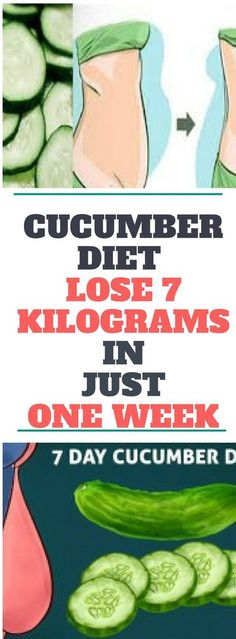 Cucumber Diet – Lose 7 Kilograms In Just One Week...! Need to know.!!!