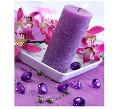 Candles, Ebay, Lilac, Colors, Dekoration, Candy, Candle Sticks, Candle
