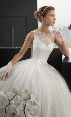bab52033e10 Two by Rosa Clara 2015 Bridal Collection Brautkleid Prinzessin