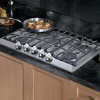 "30"" Gas Cooktop (RDGSU) in Stainless Steel - Viking Range, LLC"