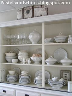 Pastels and Whites: Kitchen Kitchen ....