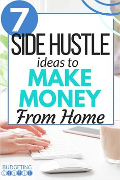 Check out this list of side hustle ideas to you can easily make money from home. These extra income and side income ideas are perfect if you want to make a little extra money in your spare time from the comfort of your home. Money Today, Earn Money From Home, Make Money Fast, Make Money Online, Free Money, Online Earning, Best Money Saving Tips, Money Tips, Saving Money