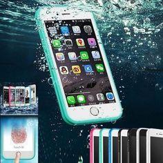 Waterproof  Fullcover Protector Case For iPhone X / 8 / 8 Plus / 7 / 7  Plus / 6 / 6 Plus / 6s / 6s Plus / 5 / 5s / SE