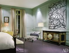 Traditional Bedroom by Peter Marino and Peter Marino in New York, New York
